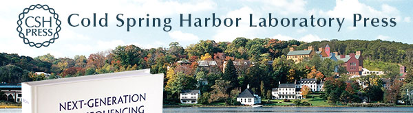 Cold Spring Harbor Laboratory Press banner image