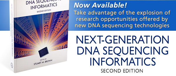 Next-Generation DNA Sequencing Informatics, Second Edition banner image