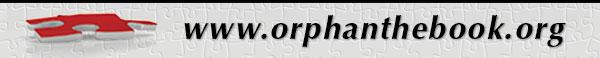 www.orphanthebook.org banner image
