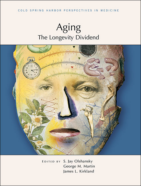 Aging: the Longevity Dividend cover art