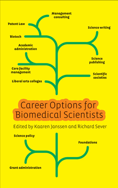 Career Options for Biomedical Scientists cover image