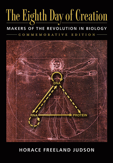 The Eighth Day of Creation: The Makers of the Revolution in Biology (Commemorative Edition) cover image