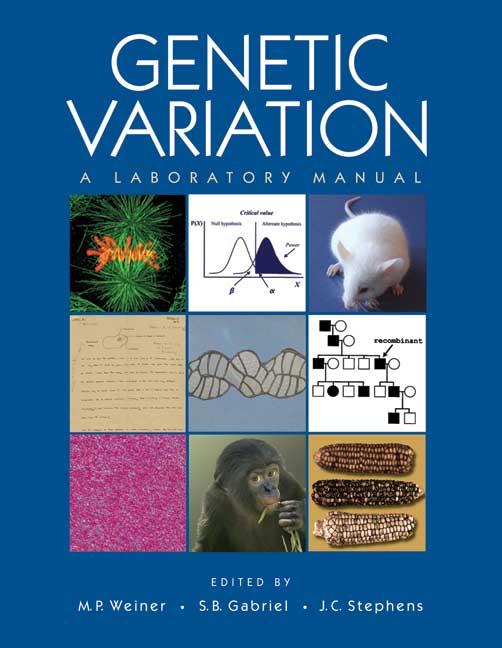 genetic variation a laboratory manual rh cshlpress com Laboratory Stock-Photo Laboratory Stock-Photo