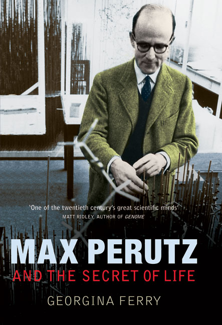 Max Perutz and the Secret of Life cvoer image