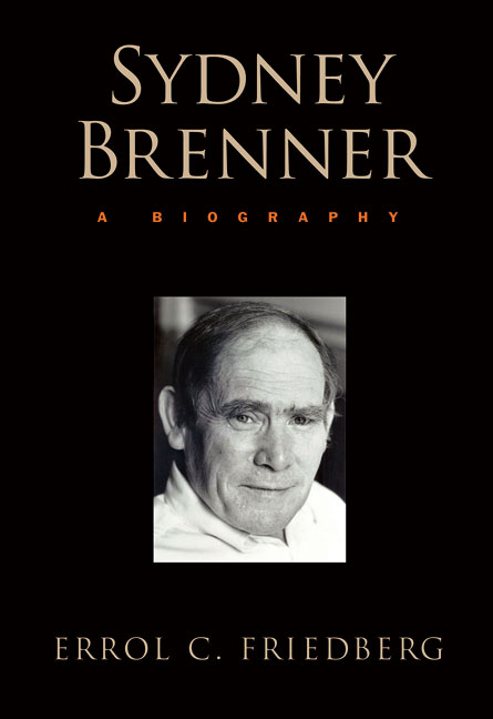 Sydney Brenner: A Biography cover image
