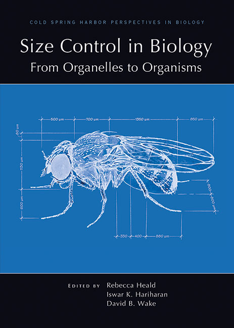 Size Control in Biology: From Organelles to Organisms cover image