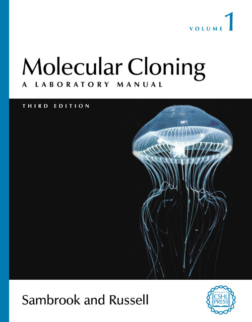 the condensed protocols from molecular cloning a laboratory manual