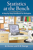 Statistics at the Bench: A Step-by-Step Handbook for Biologists cover art